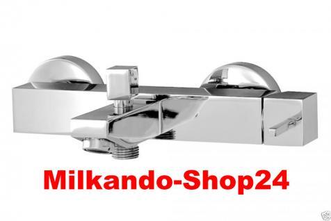 Design Wannenfüller Bad Badezimmer Wasserhahn Chrom Badewanne Armatur DN03