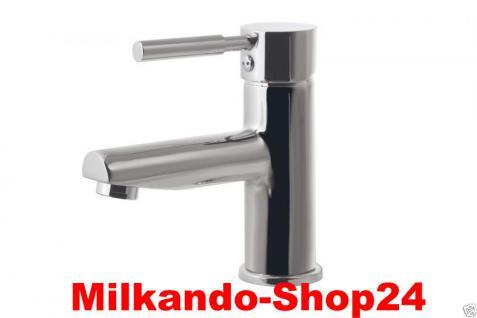 Design Einhandmischer Bad Badezimmer Wasserhahn Chrom Waschtisch Armatur BSC1CH