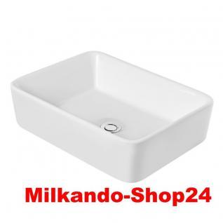 Design Keramik Aufsatzwaschbecken Waschbecken Waschtisch Waschschale Bad Kr 182