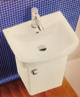 Waschbecken Gäste WC Unterschrank Badmöbel Hochglanz Badezimmer Kollo Pi Möbel