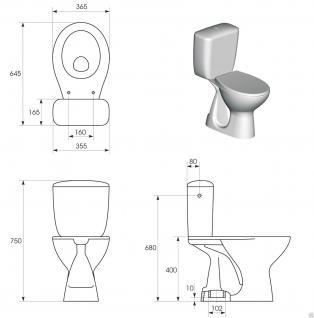 design wc toilette stand komplett set sp lkasten aus keramik mit sitz senkrecht kaufen bei. Black Bedroom Furniture Sets. Home Design Ideas