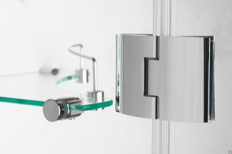 Luxus Echtglas Duschabtrennung Duschkabine Dusche Acryl Duschwanne Siesta Ok - Vorschau 4