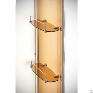 Luxus Echtglas Duschabtrennung Duschkabine Dusche Acryl Duschwanne 120 X 90 Cmnt - Vorschau 4