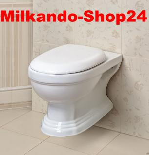 Design WAND Hänge-Wc Keramik Wc Retro Classic Toilette Softclose Kr13/kr16