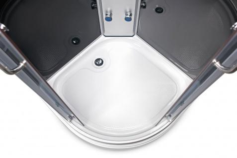 Duschtempel Fertigdusche Duschkabine GLAS Komplett DUSCHE Wanne 80 x 80cm - Vorschau 2