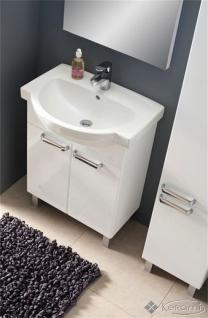 Waschplatz mit Waschbecken Gäste WC WB-Unterschrank Waschtisch Badmöbel Kollo Fe