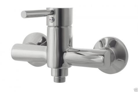 Design Wannenfüller Bad Badezimmer Wasserhahn Chrom Badewanne Armatur BSC04 - Vorschau 3