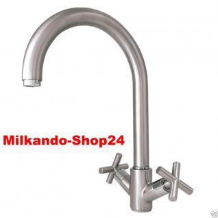 Edle Zwei hand Küchen Spültisch Küchenarmatur Spültischarmatur Armatur CS211501
