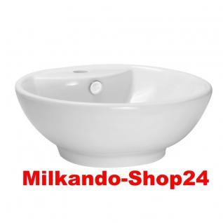 Design Keramik Aufsatzwaschbecken Waschbecken Waschtisch Waschschale Bad Kr 191
