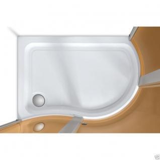 Luxus Echtglas Duschabtrennung Duschkabine Dusche Acryl Duschwanne 120 X 90 Cmnt - Vorschau 3