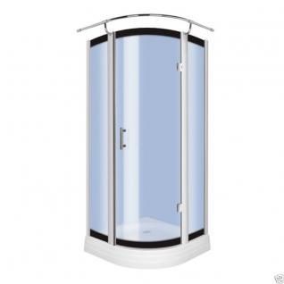 Luxus Echtglas Duschabtrennung Duschkabine Dusche Acryl Duschwanne