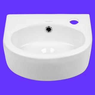 Design Keramik Aufsatzwaschbecken Waschbecken Waschtisch Waschschale Bad Kr 601 - Vorschau 3