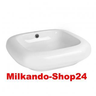 Design Keramik Aufsatzwaschbecken Waschbecken Waschtisch Waschschale Bad Kr 199