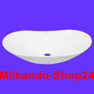 Design Keramik Aufsatzwaschbecken Waschbecken Waschtisch Waschschale Bad Kr 781