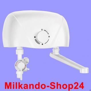 Klein- Durchlauferhitzer elektronisch Übertisch inkl. Amatur 3, 5/ 5, 5 Kw - Vorschau 2