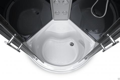 Duschtempel Fertigdusche Duschkabine Echt Glas Komplett Dusche Wanne 91 X 91 ! - Vorschau 4