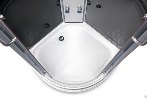 Duschtempel Fertigdusche Duschkabine Echt glas Komplett Dusche Wanne 80 Cm! - Vorschau 3