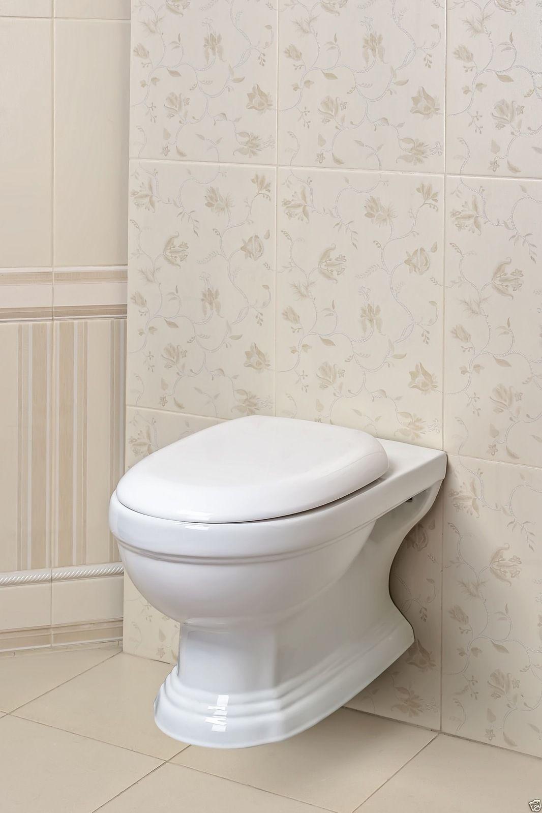 design wand h nge wc keramik wc retro classic toilette softclose kr13 kr16 kaufen bei milkando. Black Bedroom Furniture Sets. Home Design Ideas