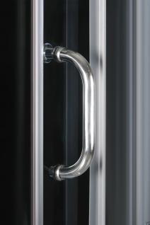 DUSCHTEMPEL FERTIGDUSCHE DUSCHKABINE ECHT GLAS KOMPLETT DUSCHE Wanne 90 X 90 cm - Vorschau 3