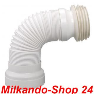 Flexible WC-Verbindung Problemlöser für den WC-Anschluss Länge : 270 - 540mm!! - Vorschau 1