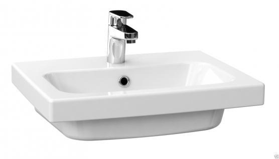 Design WAND HÄNGE Waschbecken  com 50 Für Wand Montage Möbelwaschbecken - Vorschau 2