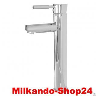 Design Einhandmischer Bad Badezimmer Wasserhahn Chrom Waschtisch Armatur BSC08 - Vorschau 1