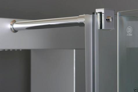 Luxus Duschtempel duschkabine Echt Esg Glas Eck Duschabtrennung 100 X 80 Cm Gr - Vorschau 2