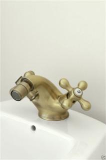 Bidet Messing Badezimmer Wasserhahn Bidet Armatur Retro Nostalgie Lux09 - Vorschau 2