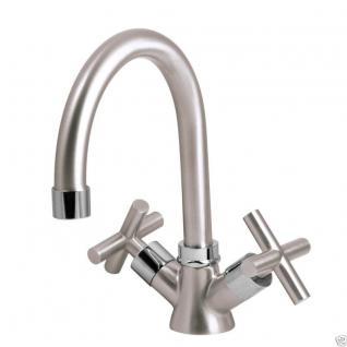 Design Zwei Handmischer Bad Badezimmer Wasserhahn Retro Waschtisch