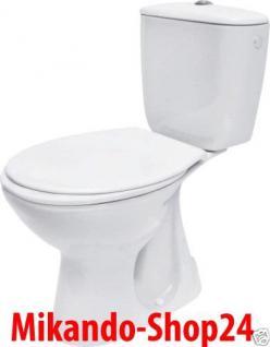 Design Wc Toilette Stand komplett set Spülkasten Aus KERAMIK Ink sitz SENKRECHT!
