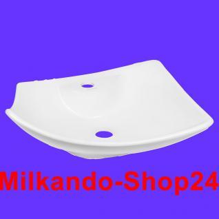 Design Keramik Aufsatzwaschbecken Waschbecken Waschtisch Waschschale Bad Kr 759 - Vorschau 1