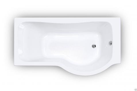Badewanne 170 inkl. Front- und Seitenschürze, Badewannen-Duschwand mit Wanne - Vorschau 4