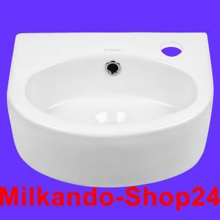 Design Keramik Aufsatzwaschbecken Waschbecken Waschtisch Waschschale Bad Kr 601 - Vorschau 1