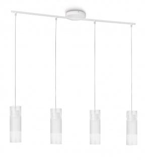 Philips LED Pendelleuchte Aln Weiss Pendel Leuchte Hängeleuchte 40991-31-16