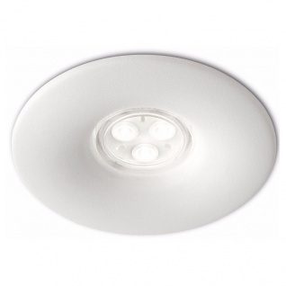 Philips Ledino Einbauspot Power LED Alu Modern Design Weiß