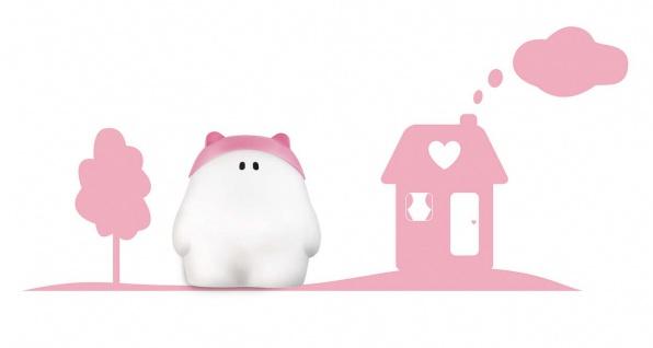 Philips Kinderzimmer Wandleuchte Buddy Home Pink Wandaufkleber