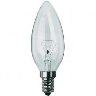 2 Stück Philips Leuchtmittel Kerzenform E14 Kerze 25W Klar Glühlampe Glühbirne