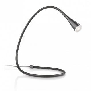 Tischlampe LED Tischleuchte Stan PowerLED Modern Leuchte Schwarz