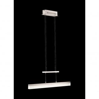 Fischer Shine Pendelleuchte LED Höhenverstellbar Nickel matt Dimmbar 2499lm