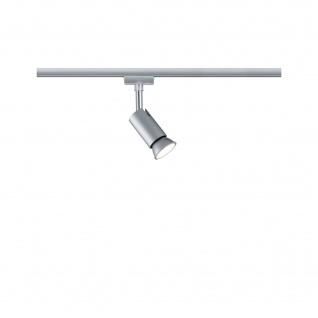 Paulmann URail LED Spot Pure I Chrom matt für Schienensystem GU10 ohne Leuchtmittel