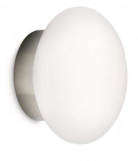 Philips Ecomoods Wandleuchte Energiespar Leuchte Glas Wandlampe 40766-17-16