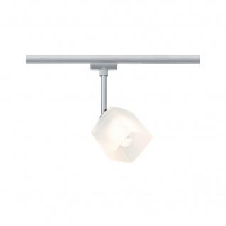 Paulmann URail LED Spot 3W Quad Chrom matt Glas für Schienensystem