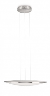Philips LED Pendelleuchte Adour Pendel Modern Dimmbar Silber