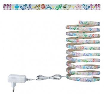 LED Strip Set 3m Metall Kunststoff 2700K 270lm 7, 2W Deko Selbstklebend
