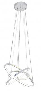 LED Pendelleuchte Dimmbar Fernbedienung Ø 50cm 3600lm