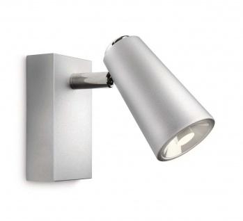 Philips LED Deckenleuchte Strahler Metall Aluminium Schwenkbar 4W