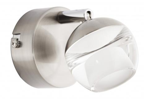 LED Wandleuchte Deckenleuchte 5W Silber Wohnraumleuchte Spot
