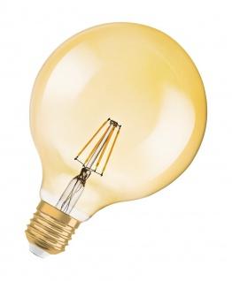 Osram LED Globe Lampe Vintage 1906 Dekorativ Glühbirne E27 Leuchtmittel 2, 8W