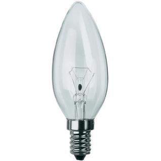 2 Stück Philips Leuchtmittel Kerzenform E14 Kerze 40W Klar Glühlampe Glühbirne