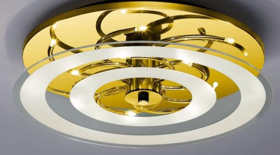 Bankamp Deckenleuchte Polar Modern Design Deckenlampe Messing 7542/14.40
